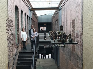 Eduardo, Edenia, and Hannah at Mass MoCA